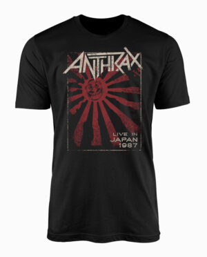 ANT10080-Anthrax-Live-In-Japan-Tshirt