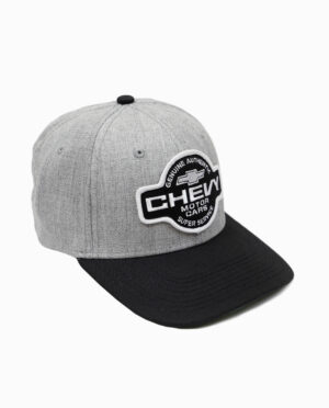 Chevy Super Service Hat Side View