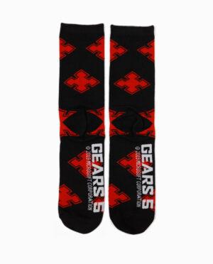 Gears 5 Locust Tag Knit Crew Sock