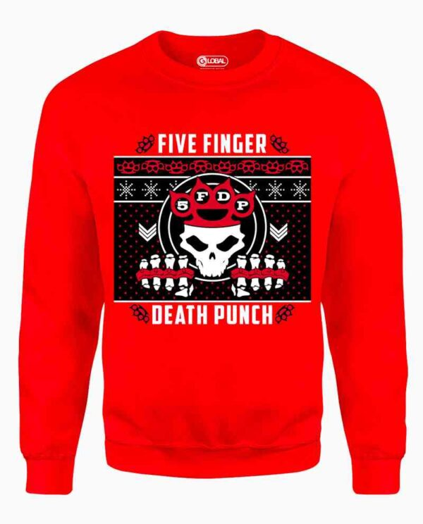Five Finger Death Punch Christmas Sweater Main Image