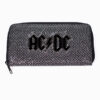 AC/DC Glitter and Metal Coin Purse Wallet