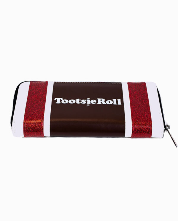 Tootsie Roll Glitter Coin Purse Wallet