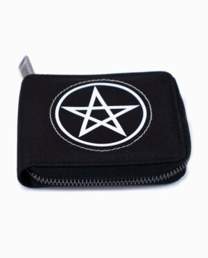 Motley Crue Pentagram Black Wallet