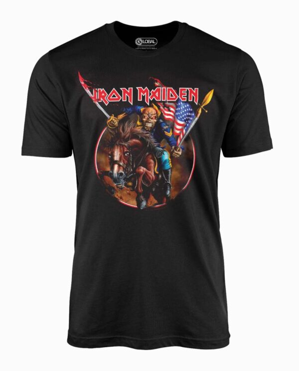 Iron Maiden Custer T-Shirt Main Image