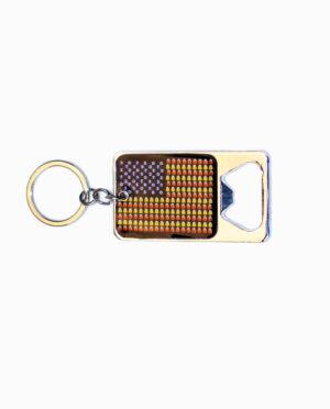 Tootsie Roll Dots Beer Opener Keychain