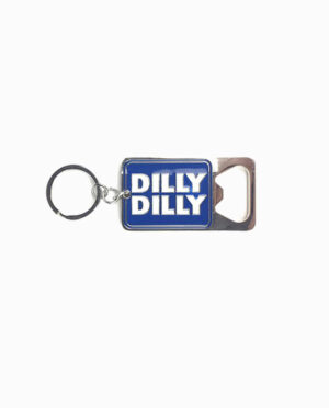Budlight Dilly Dilly Bottle Opener Keychain