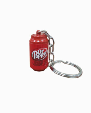 Dr Pepper Mini Soda Can Keychain