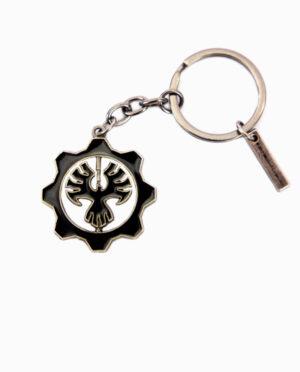Gears of War COG Emblem Keychain