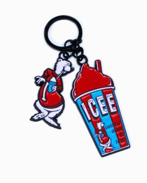 ICEE Enamel Fill Keychain