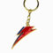David Bowie Bolt Keychain