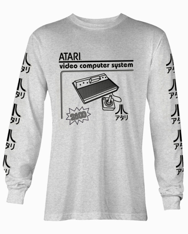 Atari 2600 Kanji Long Sleeve T-Shirt