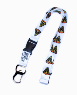 Skelly & CO Pizza Skull Bottle Opener Lanyard