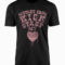 Motley Crue Kick Start My Heart Black T-Shirt