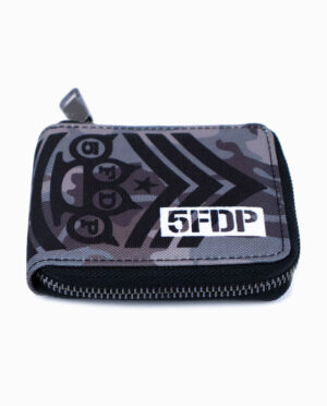 Five Finger Death Punch 5FDP Military Style Bifold Zip Wallet Style
