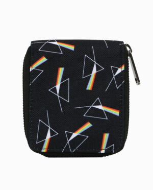 Pink Floyd Dark Side of the Moon Zipper Wallet
