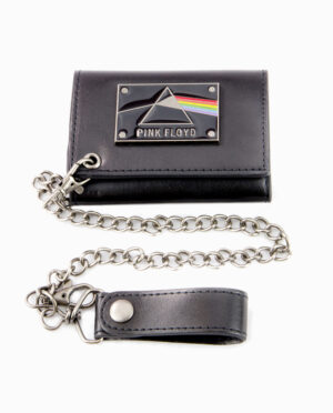 Pink Floyd Dark Side of the Moon Chain Wallet
