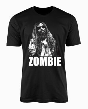 Rob Zombie No Fucks Given Black T-Shirt