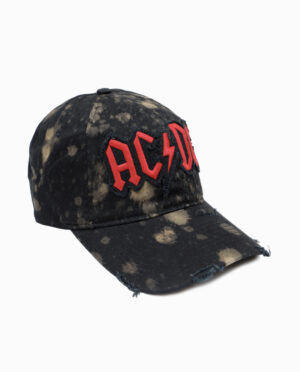 AC/DC Distressed Hat
