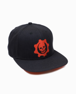 Gears of War Omen Hat Side View