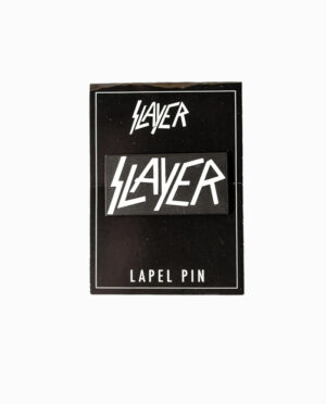 Slayer Logo Lapel Pin