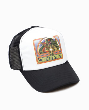 Atari Centipede Trucker Hat Side View