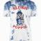 Slush Puppie White-Blue Wash T-Shirt