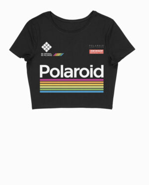 Polaroid Swinger Model 20 Crop Top T-Shirt