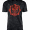Gears of War Distressed Mineral Wash T-Shirt