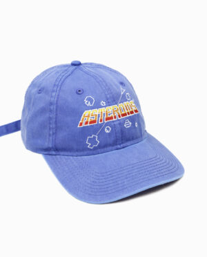 Asteroids Low Profile Hat Side View