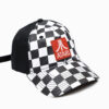 Atari Checker Hat Side View
