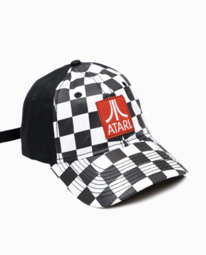 Atari Checker Hat Side View