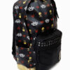 Five Finger Death Punch 5FDP Black and Gold Studded Backpack