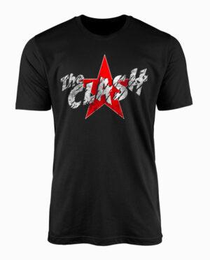 CLA10076-the-clash-star-tshirt