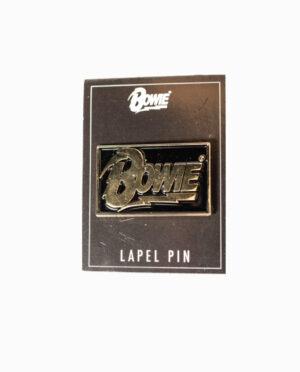 David Bowie Rectangle Bowie Lapel Pin