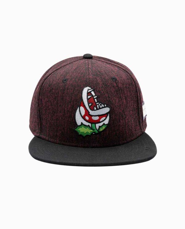 Nintendo Super Mario Piranha Snapback Hat Main Image