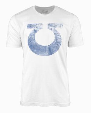 Warhammer 40K Ultramarine Space Marine Vintage White T-Shirt