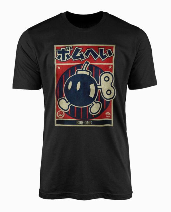 Nintendo Bob-Omb Propaganda T-Shirt