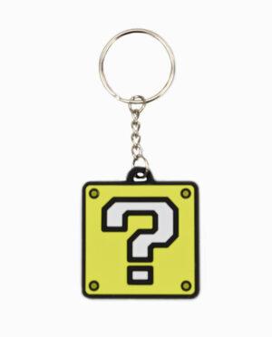 Nintendo – ? Block Rubber Keychain