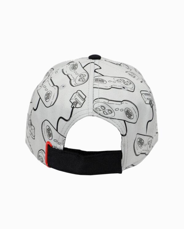 Nintendo SNES Controller Snapback Hat