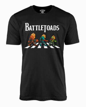 "Battletoads ""The Trio"" Black T-Shirt"