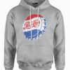 Pepsi Athletic Heather Bottle Cap Hooded Sweatshirt