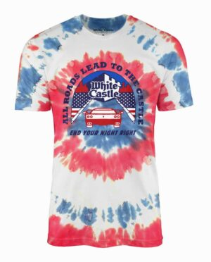 White Castle Tie Dye T-shirt