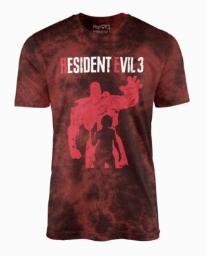 Resident Evil 3 Jill and Nemesis T-Shirt