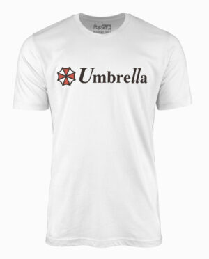 Resident Evil Umbrella White T-Shirt