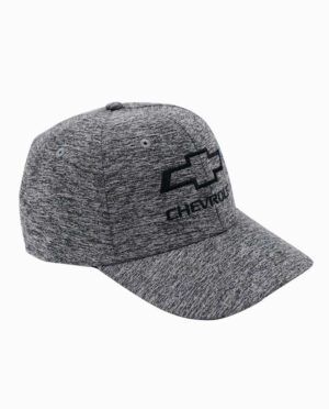 Chevy Black and Grey Heather Performance Fabric Hat