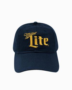 Miller Lite Royal Contrast Velcro Hat