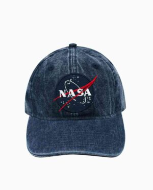 NASA Blue Acid Wash Hat Main Image