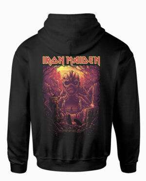 Iron Maiden Shadow Hoodie-Back Main Image