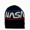 NASA Black Cuff Beanie Main Image