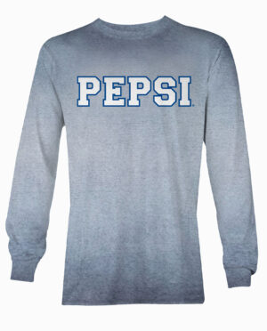 Pepsi Navy Reverse Oil Wash Long Sleeve Shirt